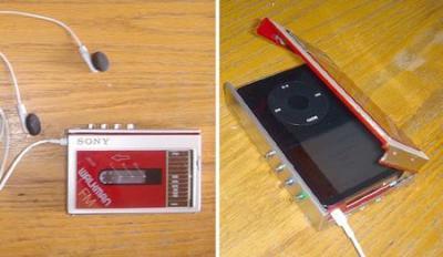 80年代Walkmanで作るiPodケース