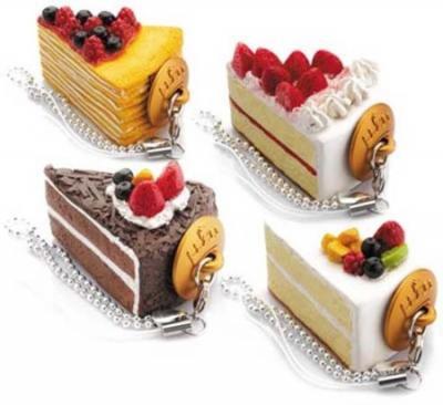 ケーキ型USBメモリ