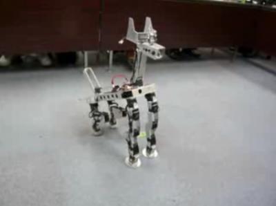 次の刺客は犬型ロボ