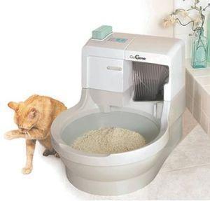 猫用の水洗トイレ