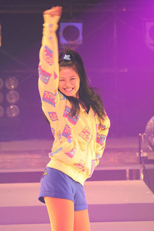 NHK朝ドラ「瞳」ダンス大会収録