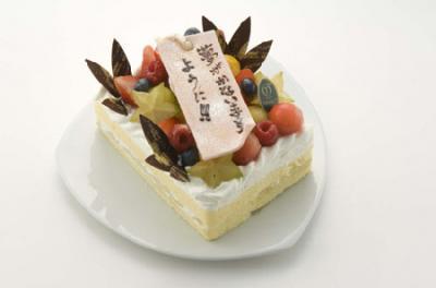 七夕ケーキに願いをこめて…