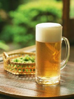 夏は冷えたビールで決まり!