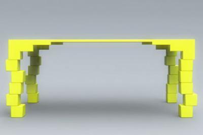 不安感を煽るテーブル