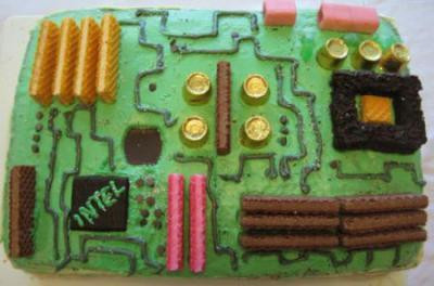 マザーボードケーキ