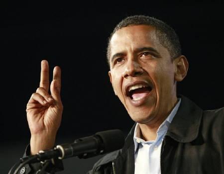 オバマ、黒人初の大統領へ