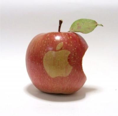 アップルにアップル