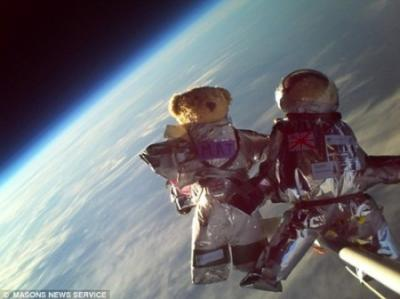 テディベア、宇宙へ行く