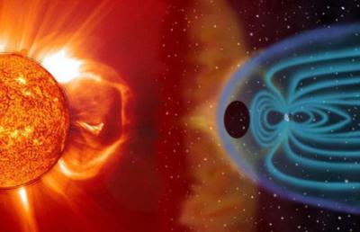 地球の磁気圏に巨大な穴、見つかる