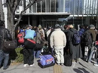 政務官「派遣村発言」撤回