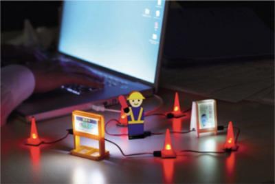 「USB工事現場」