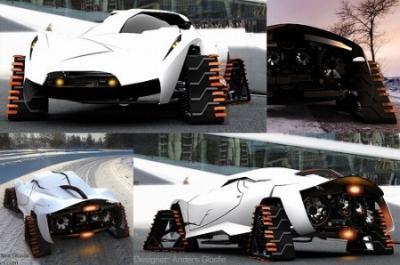 厳寒地の2シータースポーツカー
