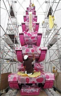 ピンクの軍事兵器